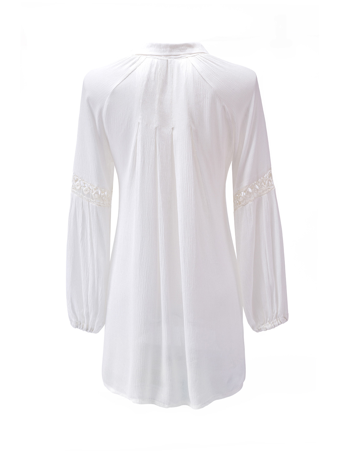 Белая блузка вискоза