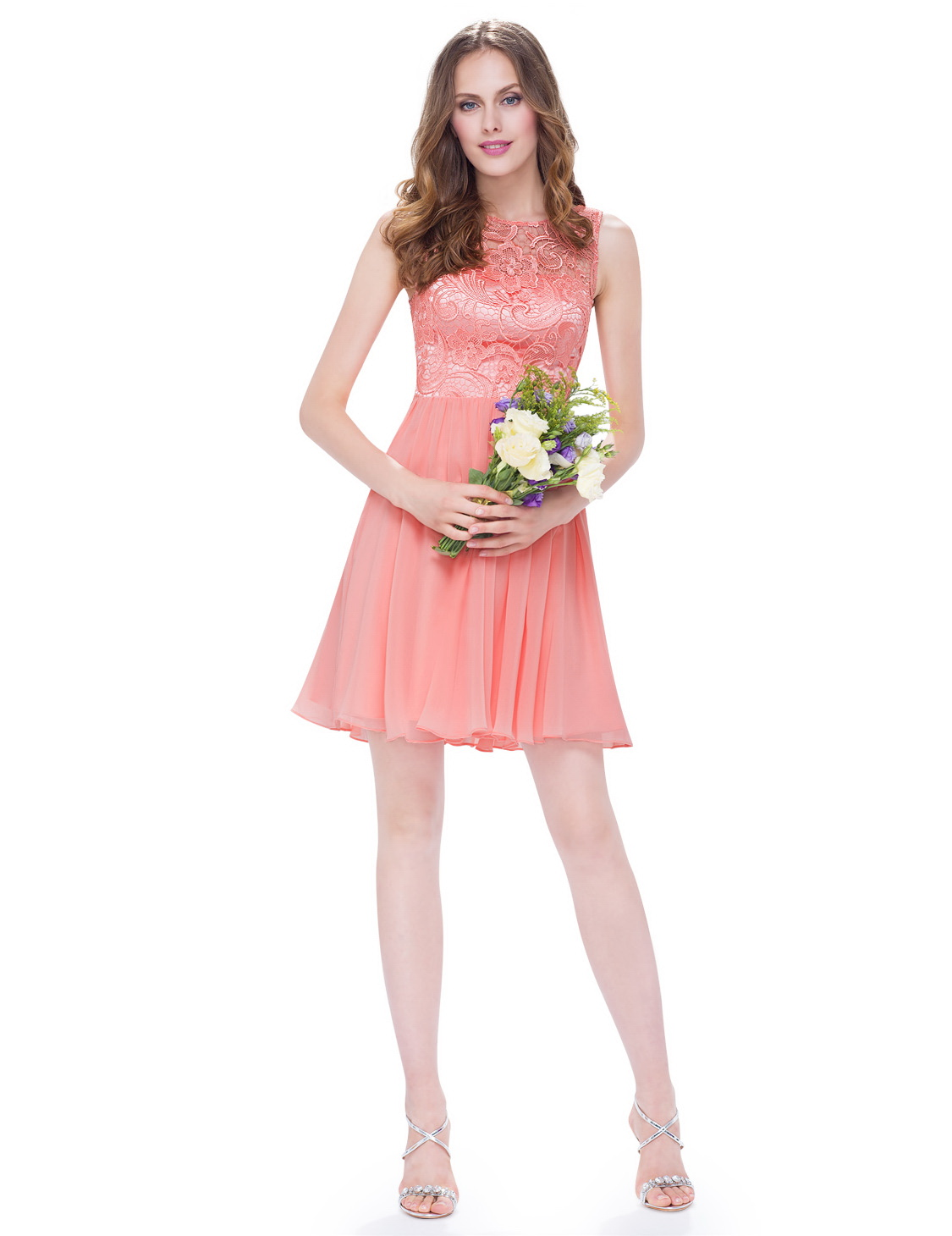 Платья с шифоновой юбкой короткие
