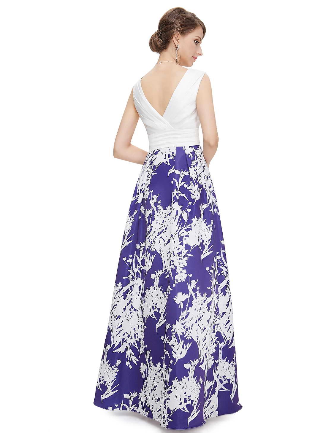 Сине белое платье доставка
