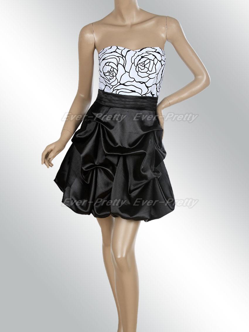 Короткие платья баллон