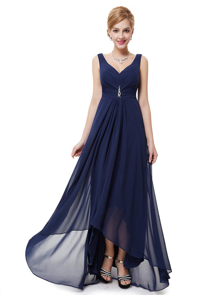 Украшения к темно синее вечернее платье