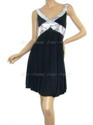 Маленькое чёрное платье с блёстками