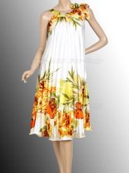 Лёгкое летнее платье с цветочным принтом