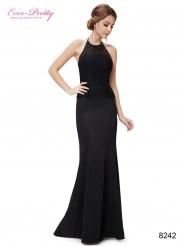 """Черное элегантное платье, силуэт """"русалка"""""""