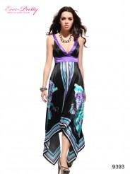 Оригинальное платье с V-обрзным вырезом