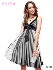 Лёгкое коктейльное платье с бантом